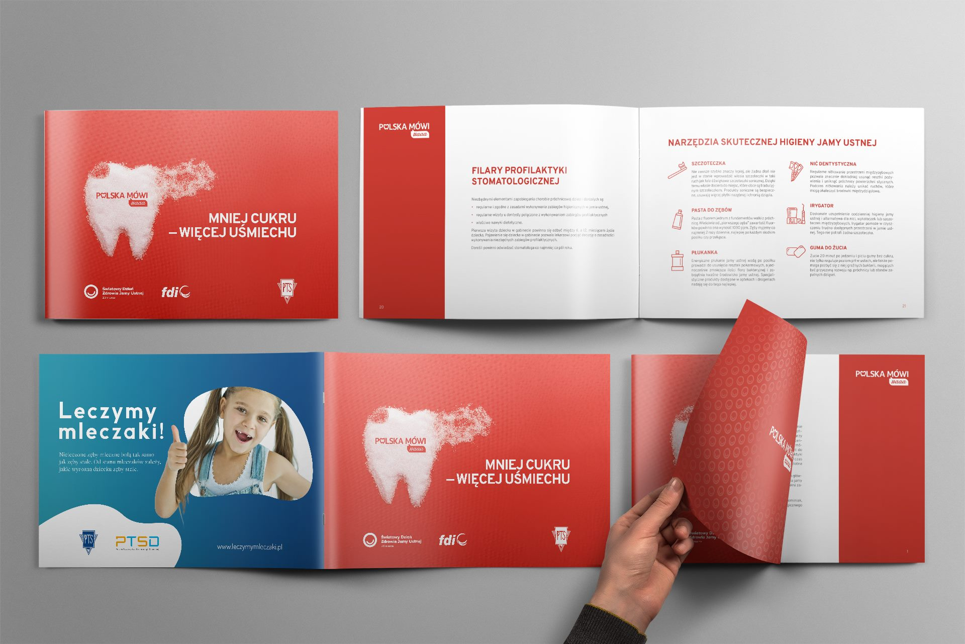 Komu materiały edukacyjne na Światowy Dzień Zdrowia Jamy Ustnej?