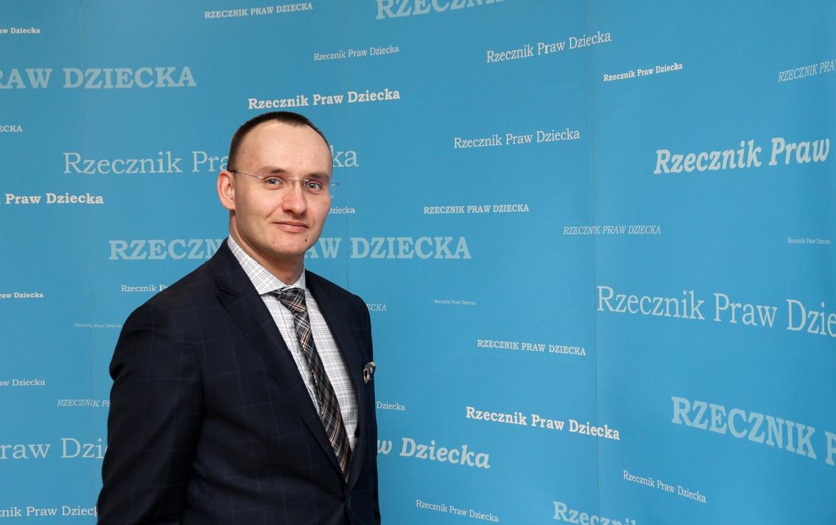 Rzecznik Praw Dziecka Mikołaj Pawlak (fot. BRPD)